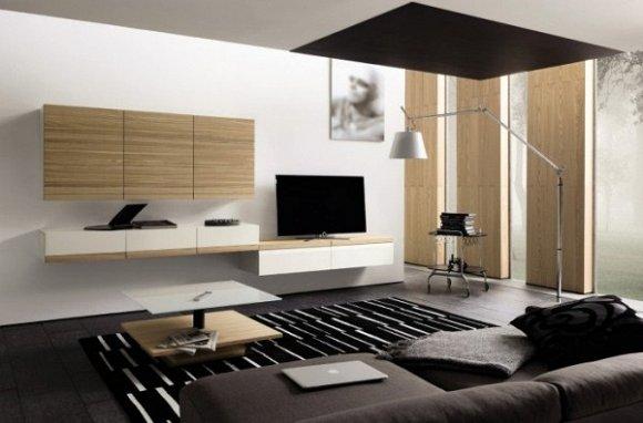 Chất liệu gỗ và laminate dễ lau chùi cho gia chủ hay bận rộn.