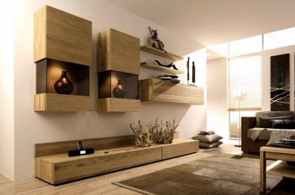 Thiết kế tối giản nhưng không kém độc đáo dành cho phòng khách nhỏ.
