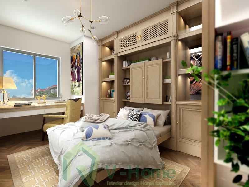 Phòng làm việc kiêm phòng ngủ