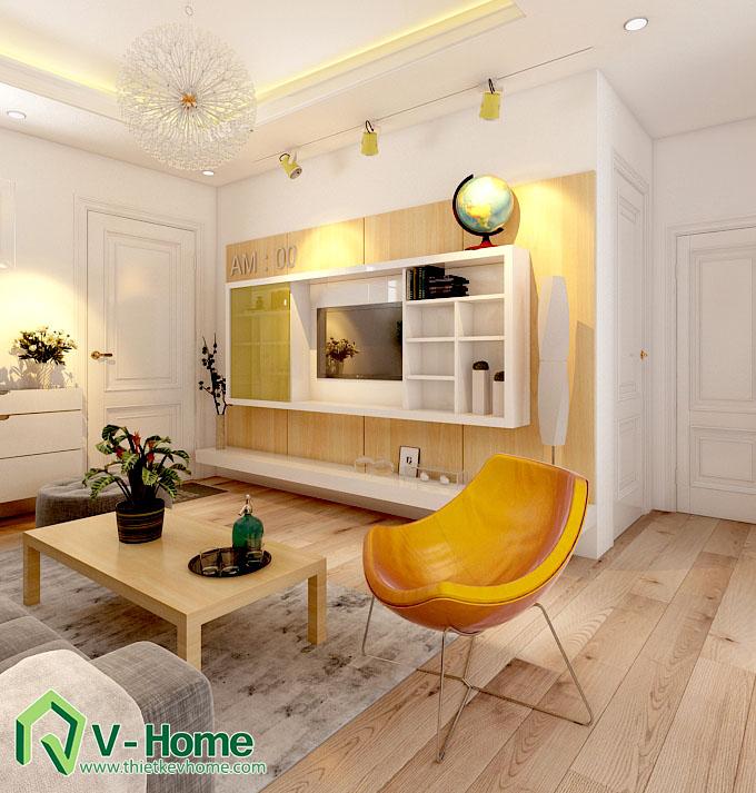 thiết kế nội thất chung cư hạ đình 3