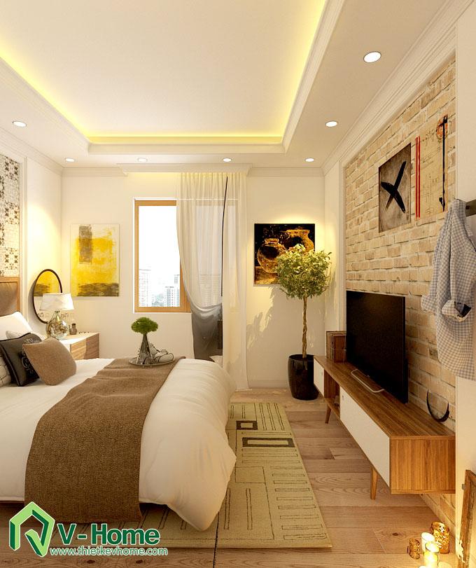 thiết kế nội thất chung cư hạ đình 9