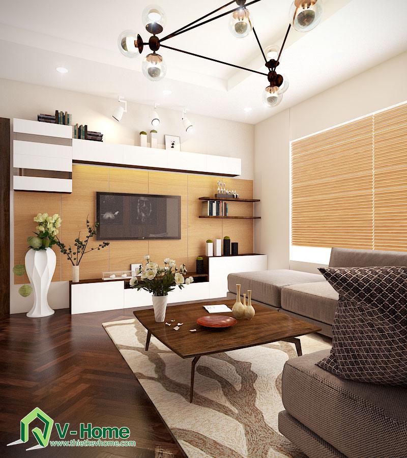 Thiết kế nội thất phòng khách chung cư Times City Noi-that-phong-khach-times-city-3