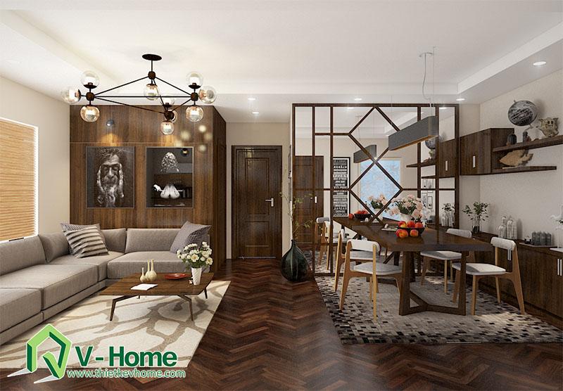 Thiết kế nội thất phòng khách chung cư Times City Noi-that-phong-khach-times-city-4