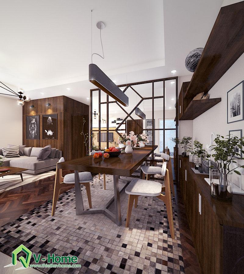 Thiết kế nội thất phòng khách chung cư Times City Noi-that-phong-khach-times-city-5
