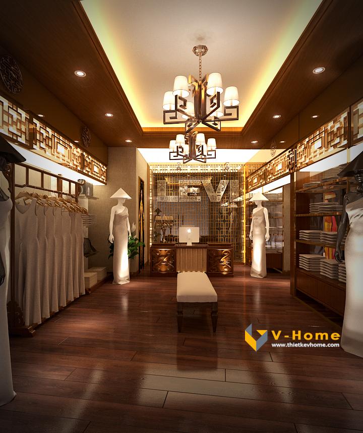 Thiet Ke Cua Hang Thoi Trang Ao Dai (8)