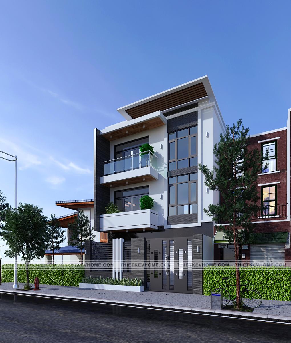thiết kế kiến trúc nhà phố hải dương – anh hoài Thiết kế kiến trúc nhà phố Hải Dương – anh Hoài thiet ke kien truc nha pho hai duong 2