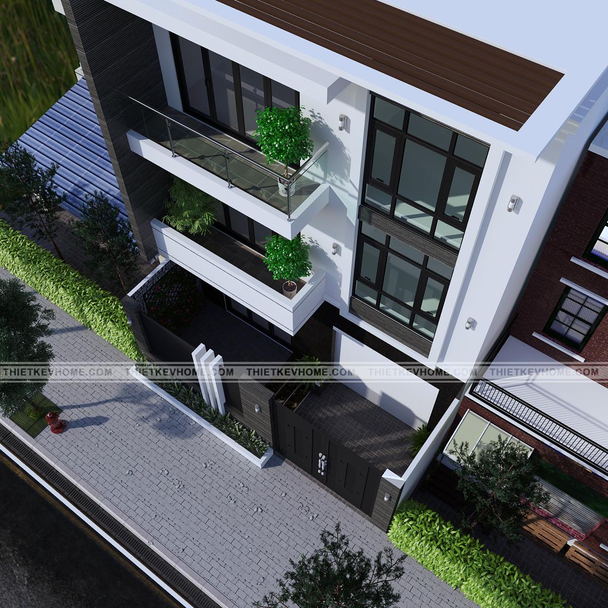 thiết kế kiến trúc nhà phố hải dương – anh hoài Thiết kế kiến trúc nhà phố Hải Dương – anh Hoài thiet ke kien truc nha pho hai duong 4