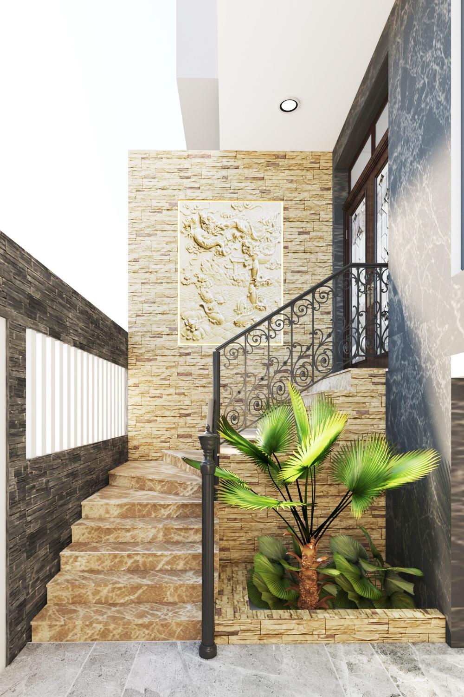 thiết kế nội ngoại thất nhà phố lai châu – anh tuyên Thiết kế nội ngoại thất nhà phố Lai Châu – Anh Tuyên 01CONG