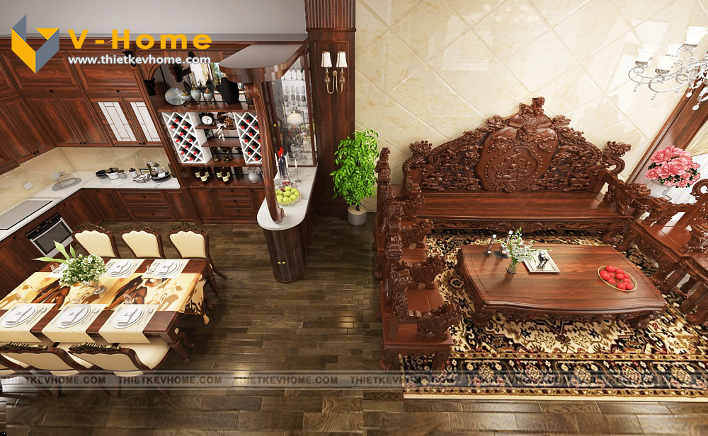 thiết kế nội ngoại thất nhà phố lai châu – anh tuyên Thiết kế nội ngoại thất nhà phố Lai Châu – Anh Tuyên 9