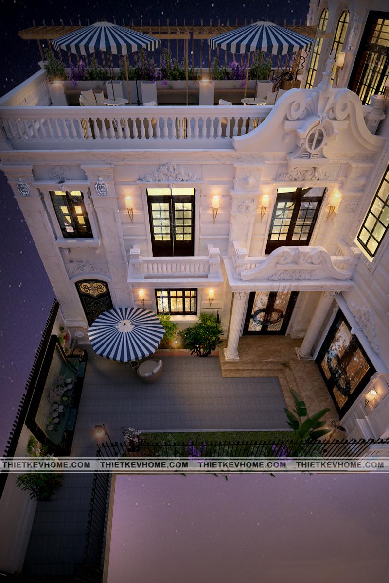 thiết kế nội ngoại thất biệt thự tân cổ điển Đan phượng Thiết kế nội ngoại thất biệt thự tân cổ điển Đan Phượng 1 copy