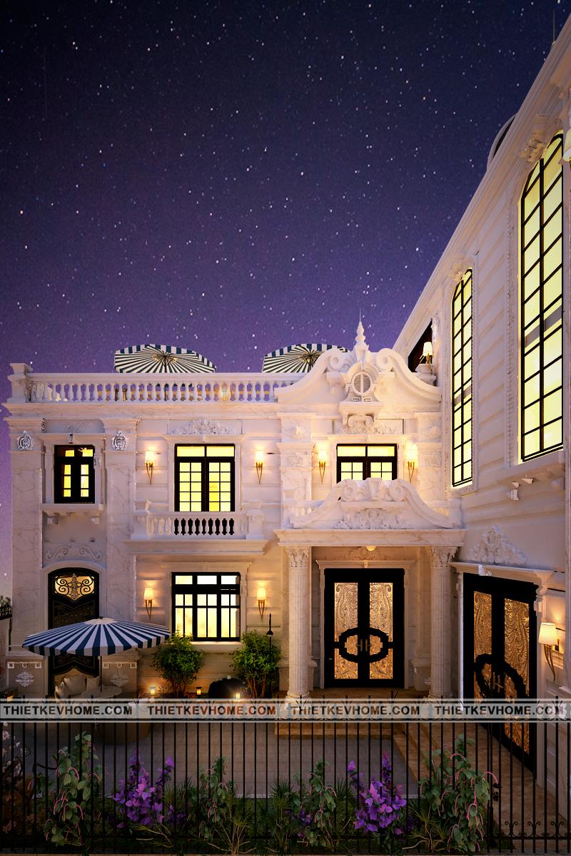 thiết kế nội ngoại thất biệt thự tân cổ điển Đan phượng Thiết kế nội ngoại thất biệt thự tân cổ điển Đan Phượng 3 copy