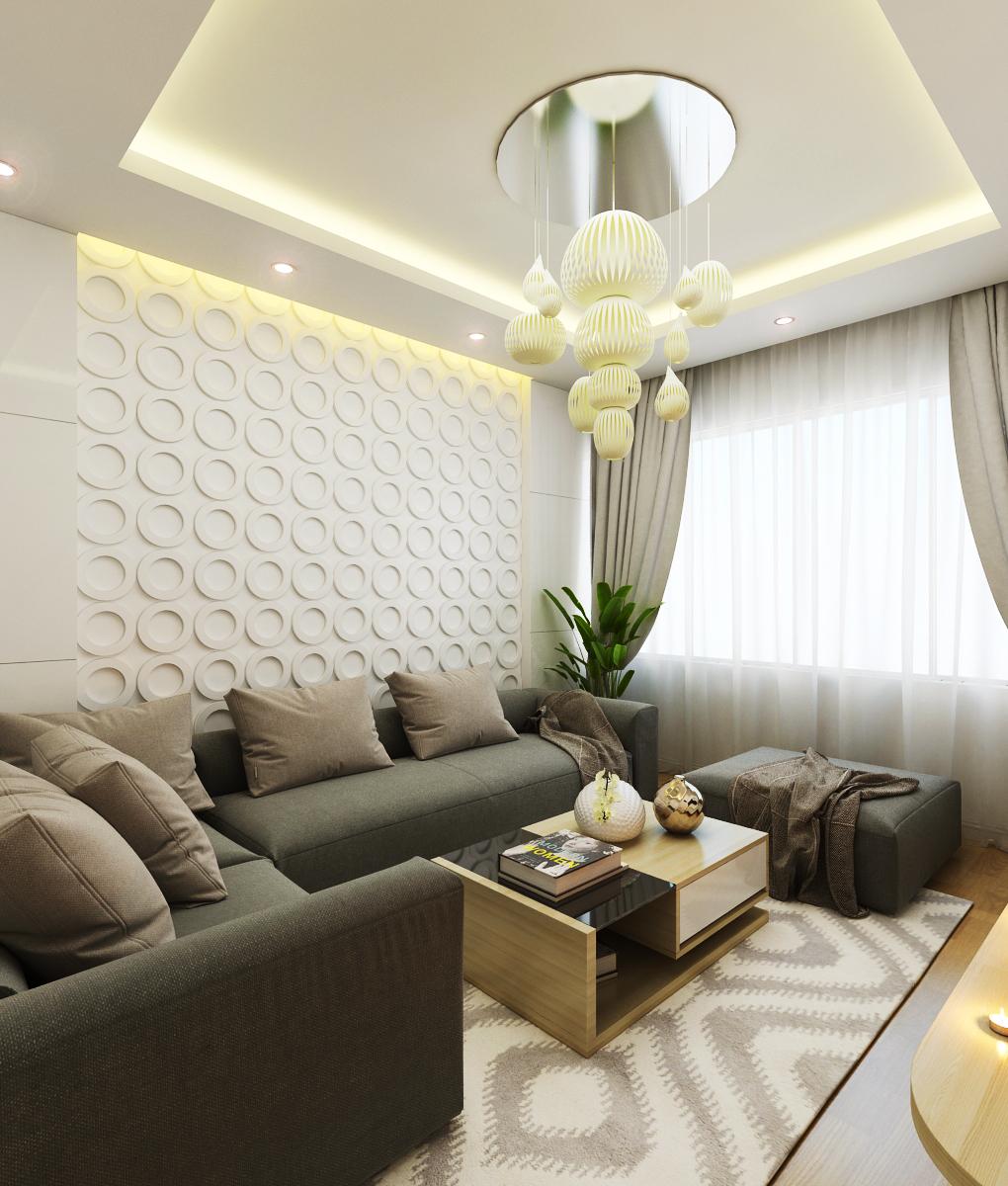 10 mẫu thiết kế phòng khách chung cư hiện đại - V-Home