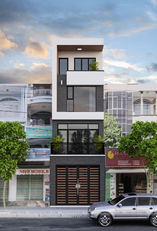 Thiết kế kiến trúc nhà phố Gia Bình, Bắc Ninh – anh Hùng 2