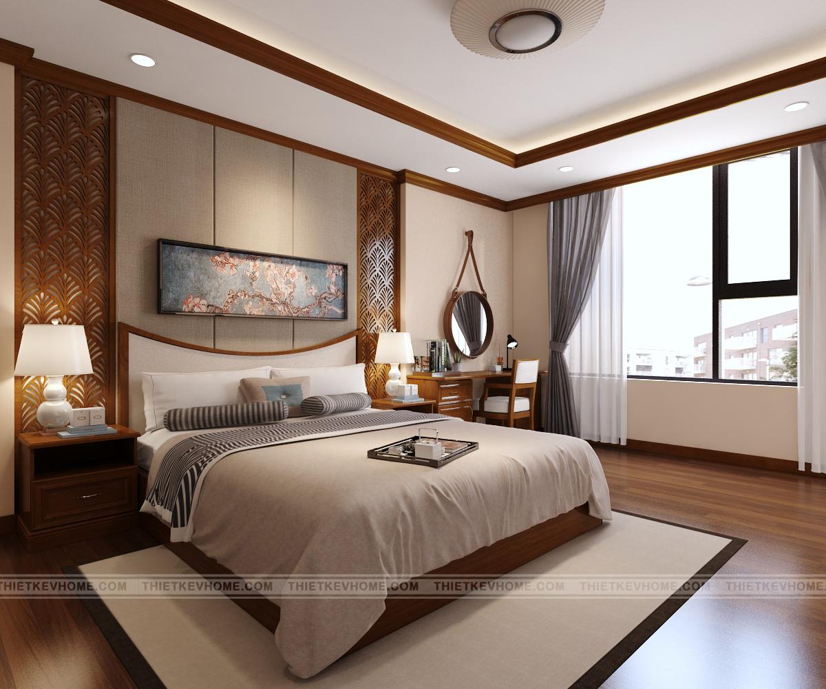 Thiết kế kiến trúc nhà phố Gia Bình, Bắc Ninh – anh Hùng noi that phong ngu master 1