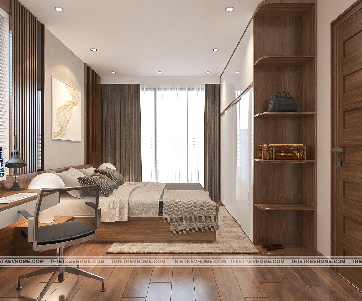 Thiết kế nội thất biệt thự hiện đại Đông Anh – chị Hằng pa1 ong ba 2